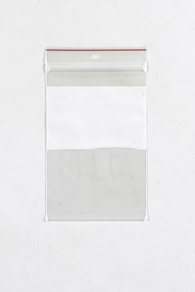 Zip Lock Bags with White Block