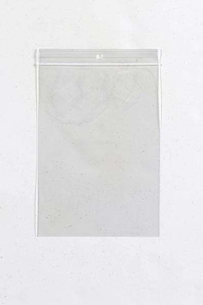 """Medium Clear Zip Lock Bags (width 6"""" to 10"""")"""