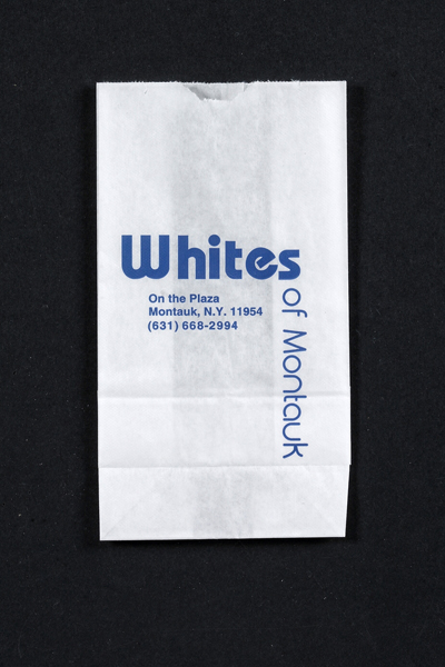 Printed White Paper Merchandise Bags