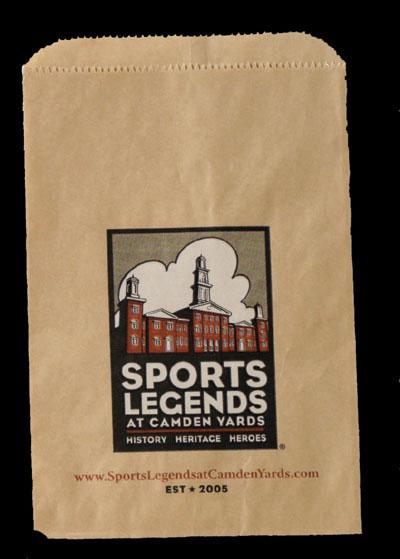 Printed Kraft Paper Merchandise Bags