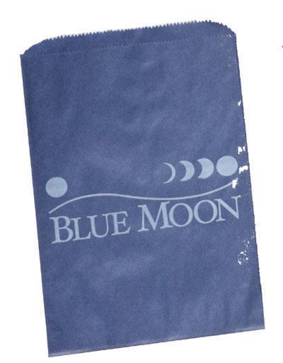 Printed Colored on Kraft Paper Merchandise Bags