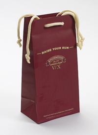 Printed Paper Wine Bag with Rope Handle
