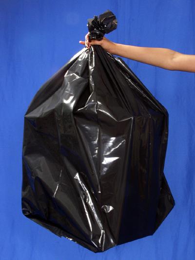 Black Garbage Liners