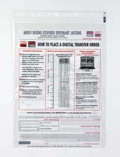 Printed Tape Bags